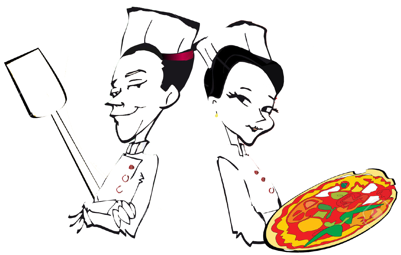 3055987-serie-di-posti-di-lavoro-pizzaiolo-e-pizza-archivio-fotografico-copia