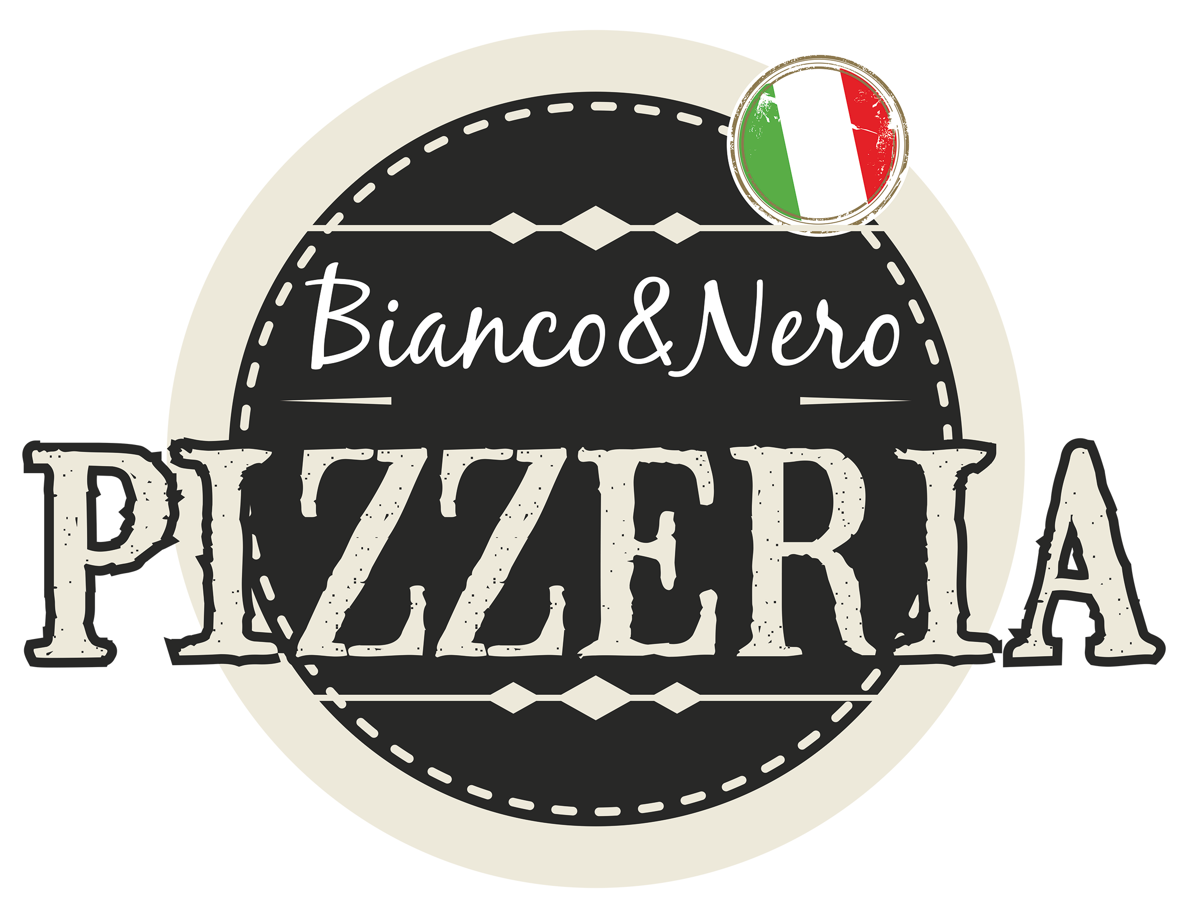 pizzeriabiancoenero logo